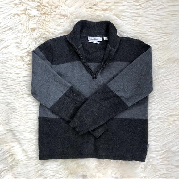 Calvin Klein Merino Wool Quarter Zip